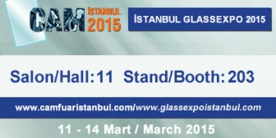 Visit Cugher At GlassExpo Istanbul 2015! In Partnership With Ferer!