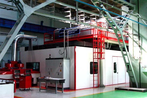 Printing Line With UV Dryer