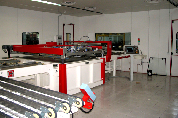 Printing Line With Uv Dryer 3