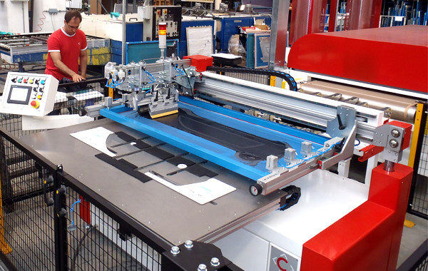 Semi Automatic Printing Line