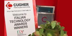 Cugher Glass E Gli Italian Technology Awards: L'eccellenza Tecnologica Guarda Al Futuro Dell'industria Internazionale