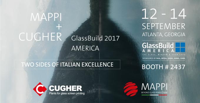 MAPPI & CUGHER At GLASSBUILD 2017