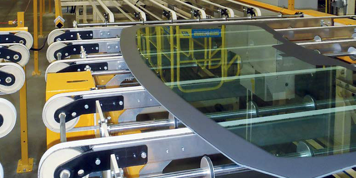 GLASS TRACKING AND MANAGAMENT ALONG THE WHOLE PRODUCTION LINE