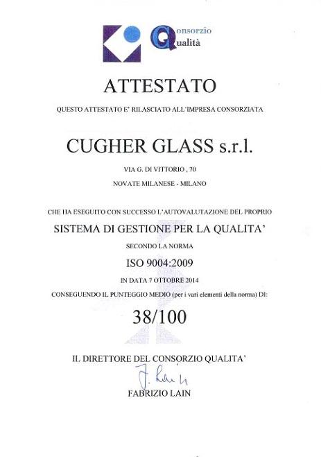 Cugher-Glass-Certificato-ISO-9004