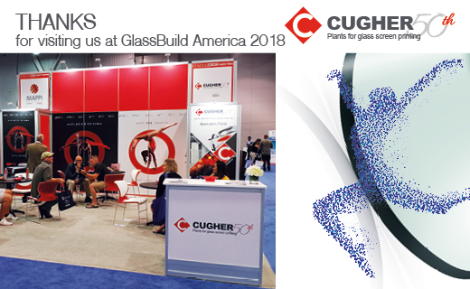 THANKS FOR VISITING US AT GLASSBUILD AMERICA 2018