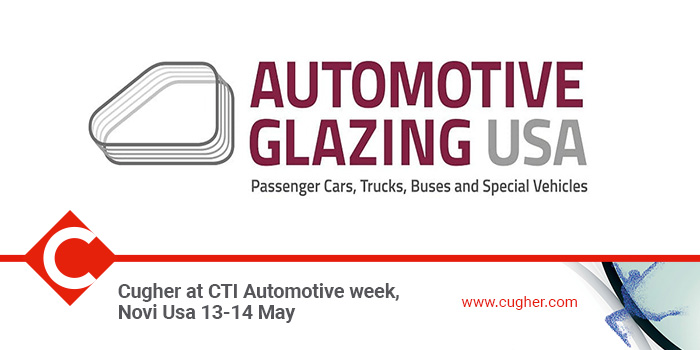CUGHER AT CTI AUTOMOTIVE WEEK, NOVI USA 13-14 MAY
