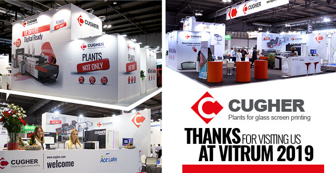 THANKS FOR VISITING US AT VITRUM 2019