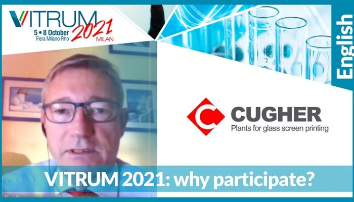 CUGHER WILL TAKE PART AT VITRUM 2021